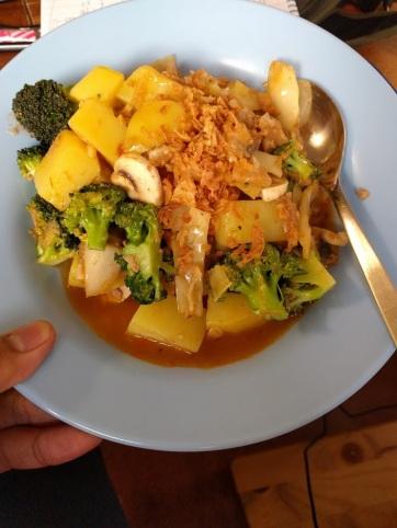Kind of Cap Cay (Stir-fry Vegetables)